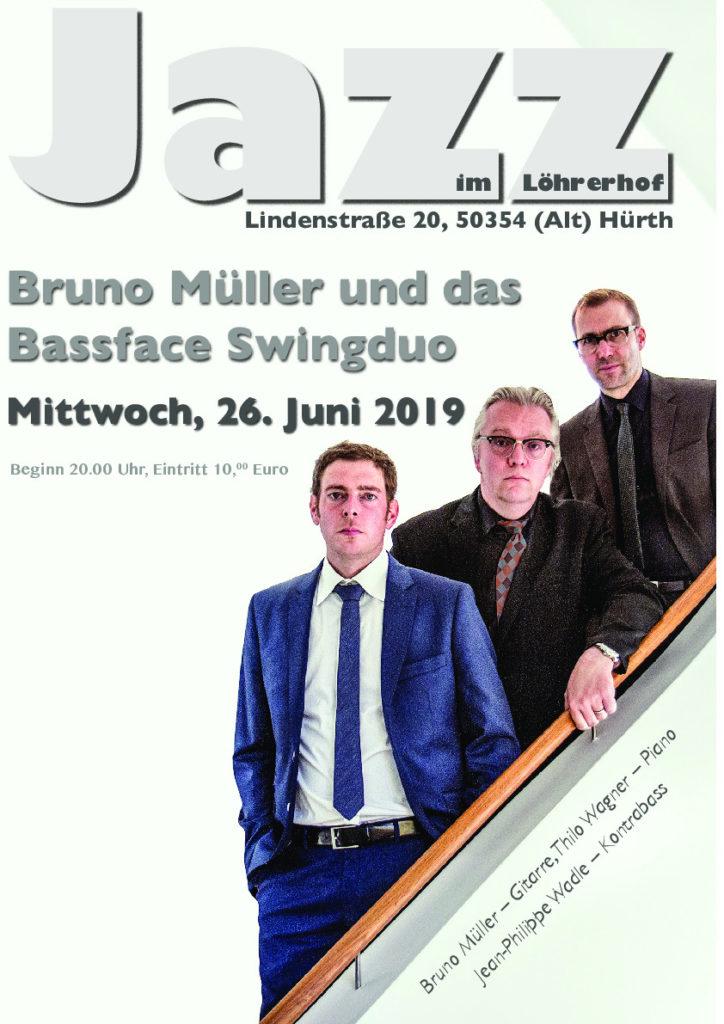 Bruno Müller und das Bassface Duo